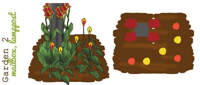 3 x 3 Garden 1 The Sultry Sun Trio Garden Bulb Blog